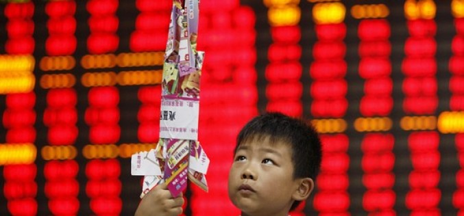 China's Nascent Stock Market in Trouble