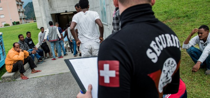 Switzerland split on the refugee issue