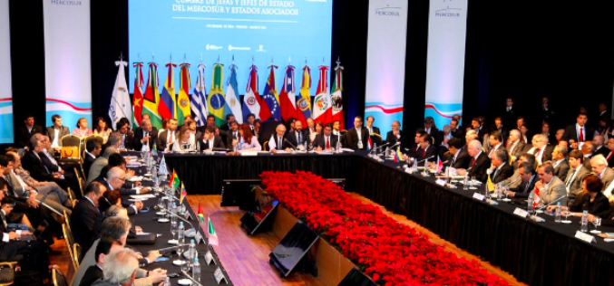 Mercosur's Birthday Celebration Reveals a Path towards Irrelevancy
